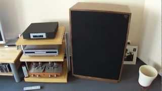 getlinkyoutube.com-Klipsch Cornwall III ,Unison Research Sinfonia ,Telefunken ECC802S ,Linn Majik CD