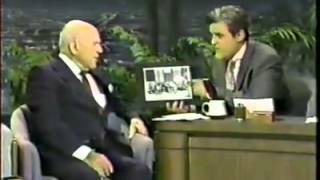 getlinkyoutube.com-Jay Leno chats to 100 year old Laurel & Hardy Producer Hal Roach - 1992