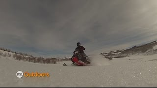 getlinkyoutube.com-Snowmobiling at Strawberry Bay & Perch Tournament at Fish Lake