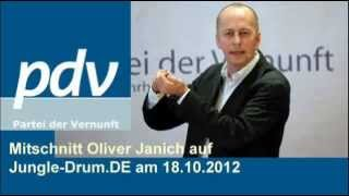 getlinkyoutube.com-Oliver Janich auf Jungle-Drum.de am 18.10.2012