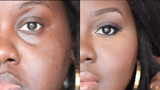 getlinkyoutube.com-How to Conceal Deep Set Under Eyes: [Detailed talk through tutorial] | Chanel Boateng