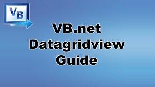 [ Tutorial ] DataGridView - VB.net / Visual Basic Programming width=