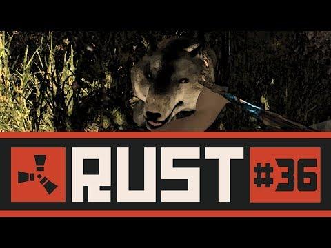 RUST #36 - Caçando animais & Coletando recursos // Lobos e ursos atrás de mim!
