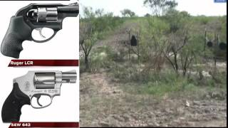 getlinkyoutube.com-S&W 642 & Ruger LCR Comparison Review