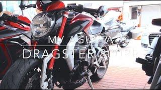 getlinkyoutube.com-MV Agusta Dragster 800 RR || Zero exhaust sound