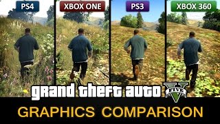 getlinkyoutube.com-GTA 5 Graphics Comparison - PS4 / Xbox One / PS3 / Xbox 360