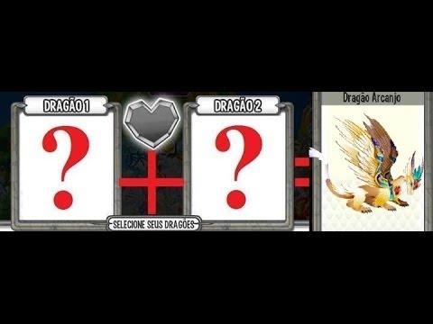 Cruzamento - Dragão Arcanjo
