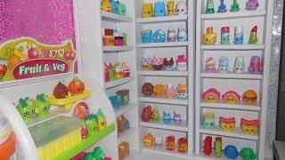 getlinkyoutube.com-Shopkin Collection and Shop Display