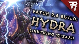 Diablo 3 2.5 Wizard Build: Lightning Hydra GR 97+ (Guide, PTR, Season 10)