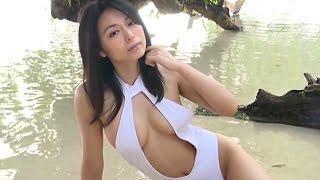 getlinkyoutube.com-Yukie Kawamura 川村ゆきえ 1 - White Bathingsuit
