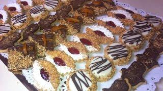 getlinkyoutube.com-حلويات العيد : صابلي بريستيج أربعة أشكال بعجين واحد هش ورآآائع