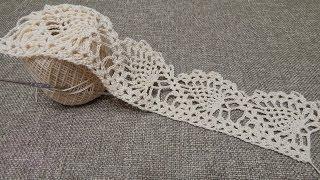 getlinkyoutube.com-Orilla # 19 Ultimas Piñas Crochet