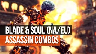 getlinkyoutube.com-Blade & Soul (NA) - Advanced Assassin Combos