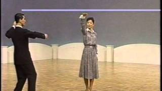 getlinkyoutube.com-024 社交ダンス スローフォックストロット (Ballroom Dance Slow Foxtrot)1995 田中英和組のスローフォックストロット
