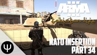 getlinkyoutube.com-ARMA 3: Takistan Life Mod — NATO Insertion — Part 34 — Bunny Hopping!