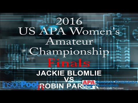 2016 U S  APA Womens Amateur Championship FINALS Jackie Blomlie vs Robin Parker