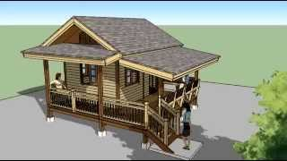 getlinkyoutube.com-แบบบ้านไม้รีสอร์ทแบบบ้านสำหรับนำไปก่อสร้างเองราคาถูก