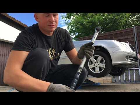 Как правильно менять колеса? W 211 в 211 Mercedes Benz и не только