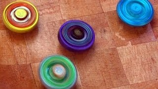 getlinkyoutube.com-Beyblade Metal Fusion Wooden Battle Royale Battle Series 1