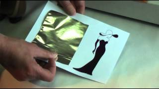 getlinkyoutube.com-How to foil using a Patsy May toner Foiling machine.