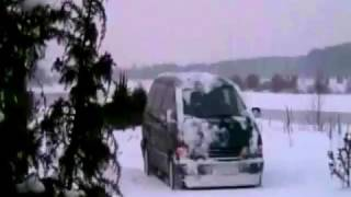 getlinkyoutube.com-Toyota Previa 4WD winter by belarus