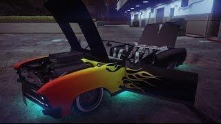 getlinkyoutube.com-GTA Online - Albany Buccaneer Fully Customized! (GTA 5 Lowrider Car Customization)
