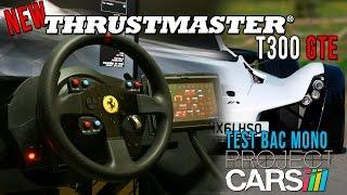 getlinkyoutube.com-New Thrustmaster T300 GTE (Ps3-PS4-Pc) Test Project Cars Bac Mono @ Laguna Seca