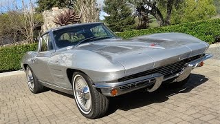 getlinkyoutube.com-1963 Chevrolet Corvette Sting Ray Split-Window for Sale