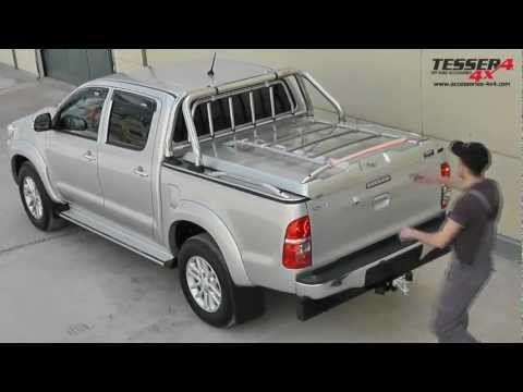 At  New Toyota Hilux 4x4 Vigo sport cover roll bar 2012 offroad accessories