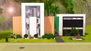 getlinkyoutube.com-Sims 3 Speed Build - Oceanside Modern