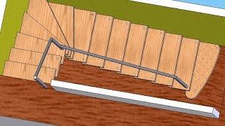 getlinkyoutube.com-Самый простой способ расчета лестницы своими руками