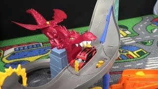 Hot Wheels Dragon Destroyer Product Demonstration