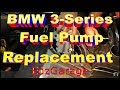 In Tank Electric Fuel Pump Diagnosis and Replacement BMW 325i e46