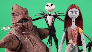 The Nightmare Before Christmas Select Review Jack Sally Oogie Boogie