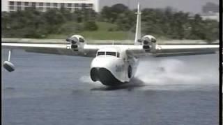 getlinkyoutube.com-Grumman G-73T Mallard landing