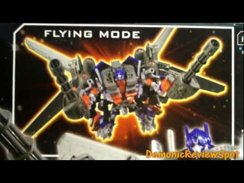 Transformers DOTM JETWING OPTIMUS PRIME REVIEW!!!!