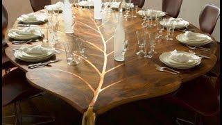 getlinkyoutube.com-Красивые столы из дерева своими руками - обеденные, кухонные, трансформеры и эурнальные