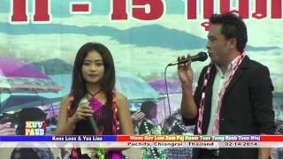 getlinkyoutube.com-Koos Loos & Yus Lias 2014 @ Puchia, Roob Tsua Ntuj/Thailand - Koj Pheej Yuav Xaiv  Xaiv Tus Twg