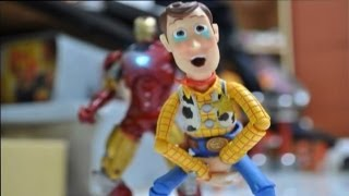 flushyoutube.com-Iron man and Toy story stop motion : The Ambush 鋼鐵人與玩具總動員
