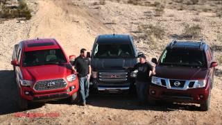 getlinkyoutube.com-2016 Mid Size Truck Shootout - Tacoma vs. Canyon vs. Frontier