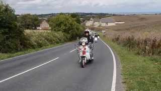 getlinkyoutube.com-Isle of Wight Scooter Rally 2014, part 1