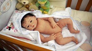 getlinkyoutube.com-Reborn baby Sofía full body vinyl // Cuerpo completo de vinilo