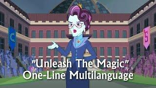 "getlinkyoutube.com-""Unleash The Magic"" (One-Line Multilanguage)/ MLP: EG FG"