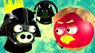 Game-Mashup: ANGRY BIRDS STAR WARS -  MORTAL KOMBAT part2 ♫ 3D animated ☺ FunVideoTV - Style ;-))