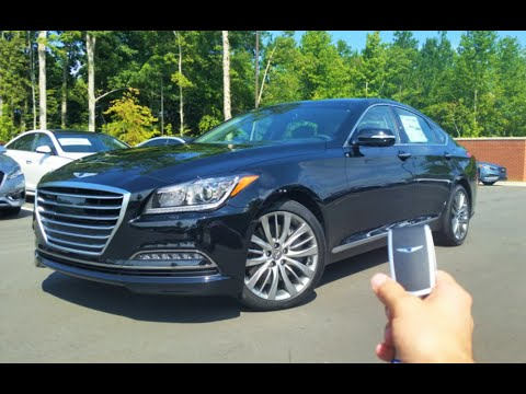 2017 Genesis G80 5.0 Ultimate: Start Up, Exhaust, Test Drive and Review