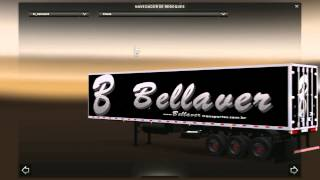 getlinkyoutube.com-Ets 2 - Pack de reboques da Transportadora Brusque Free - Funciona Com Mapa Eaa  + Download