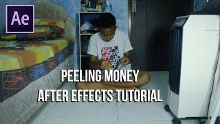 getlinkyoutube.com-After Effects Tutorial - Peeling Money / Mengupas Uang #5 (Zach King) [INDONESIA]