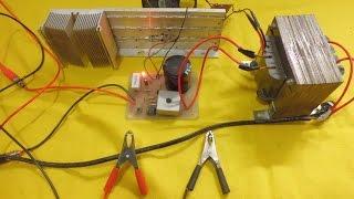 Cargador de baterías de 12v automático (Fácil de hacer)