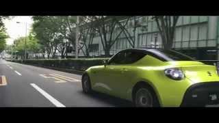 getlinkyoutube.com-2015 Tokyo Motor Show: Toyota S-FR Concept