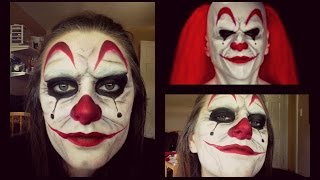 getlinkyoutube.com-Scary Clown | Halloween Tutorial